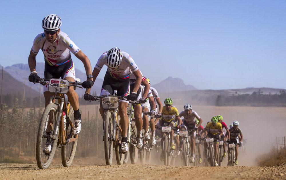 900 африканских километров на велосипеде.